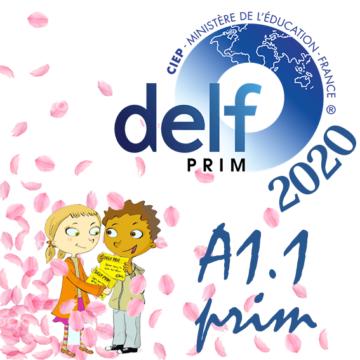 Atelier de préparation DELF A1.1 prim デルフA1.1プリム対策アトリエの画像